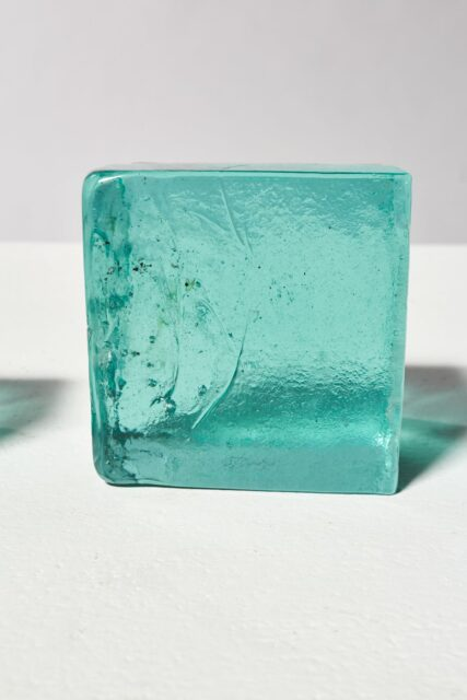 Alternate view 3 of Decorative Recycled Glass Cube Trio