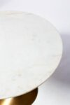 Alternate view thumbnail 1 of Casey White Marble Tulip Dining Table