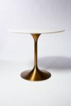 Alternate view thumbnail 3 of Casey White Marble Tulip Dining Table