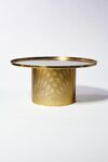 Alternate view thumbnail 4 of Carey Brushed Brass Coffee Table