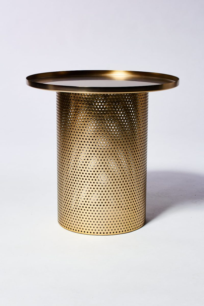 Alternate view 2 of Carey Brushed Brass End Table