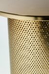 Alternate view thumbnail 4 of Carey Brushed Brass End Table