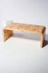 Alternate view thumbnail 2 of Ward Burl Wood Waterfall Coffee Table