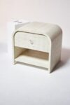 Alternate view thumbnail 2 of Amerie Textured Linen Side Table Nightstand