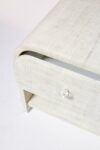 Alternate view thumbnail 1 of Amerie Textured Linen Side Table Nightstand