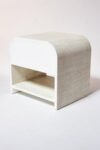 Alternate view thumbnail 4 of Amerie Textured Linen Side Table Nightstand