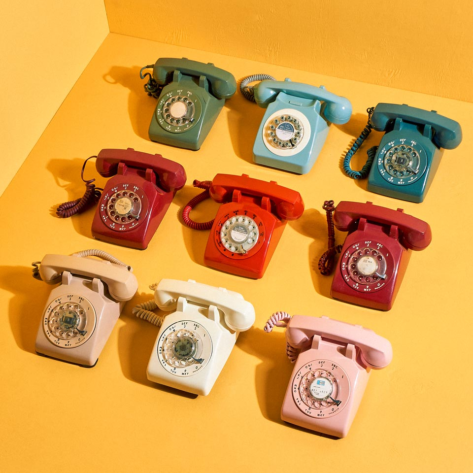 Category: Rotary and Touch Dial Phones