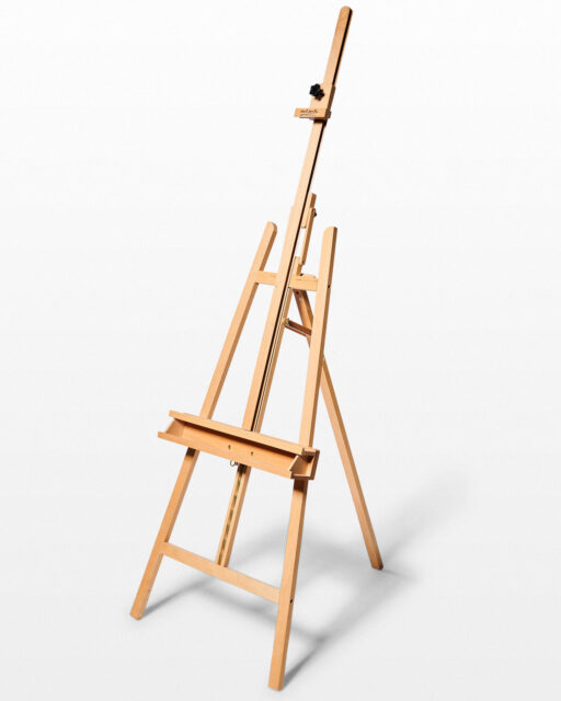 Front view of Post Adjustable Folding Easel