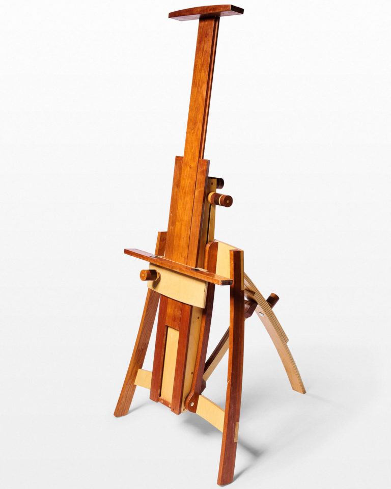 Front view of Craftsman Adjustable Easel or Display Stand