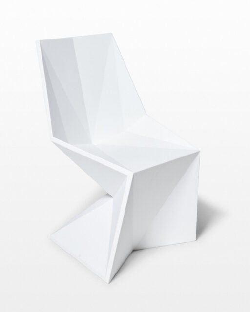 Front view of Zella Chair