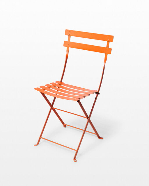 Front view of Citra Folding Bistro Chair