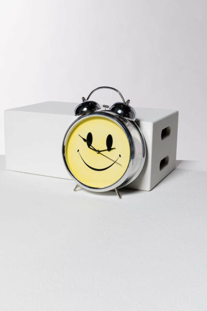 Alternate view 4 of Oversized Smiley Face Alarm Clock