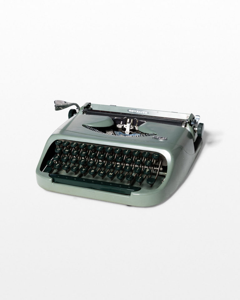 Front view of Washington Typewriter