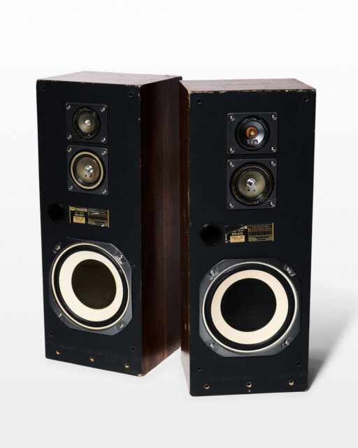 Front view of Notorious Speaker Set