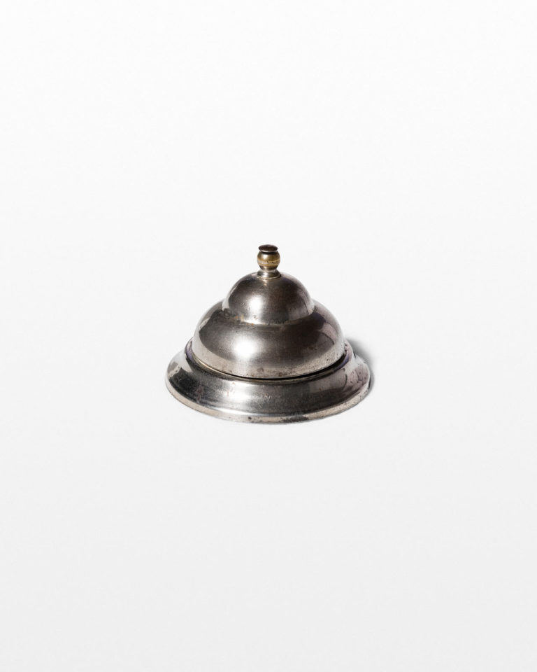 Front view of Plaza Tabletop Reception Bell
