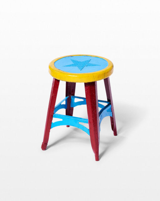 Front view of Barnum Stool