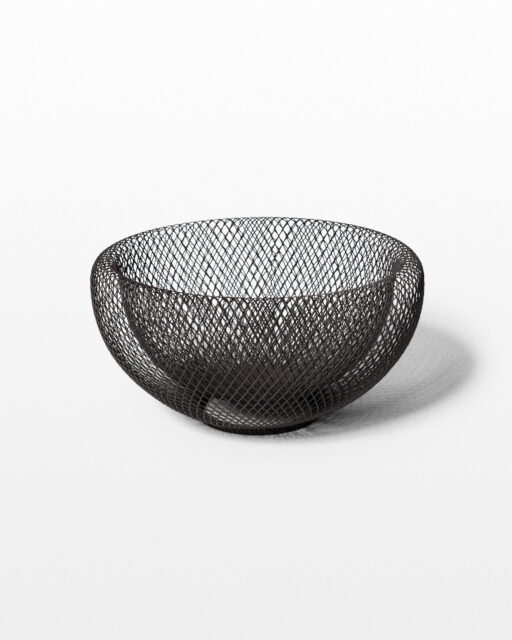 Front view of Merlin Wire Mesh Bowl