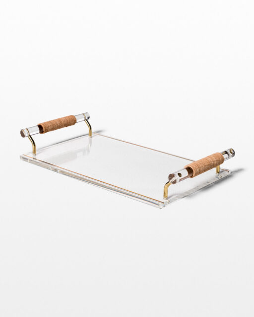 Front view of Scotto Acrylic Tray
