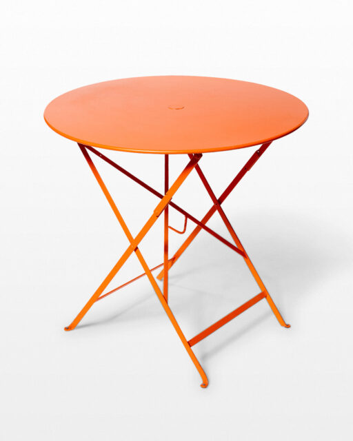 Front view of Citra Folding Bistro Table