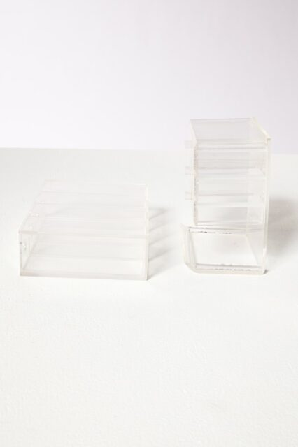 Alternate view 2 of Clarissa Lucite Jewelry Case Pair