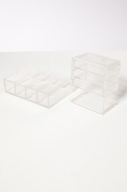 Alternate view 3 of Clarissa Lucite Jewelry Case Pair