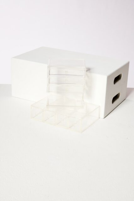 Alternate view 4 of Clarissa Lucite Jewelry Case Pair