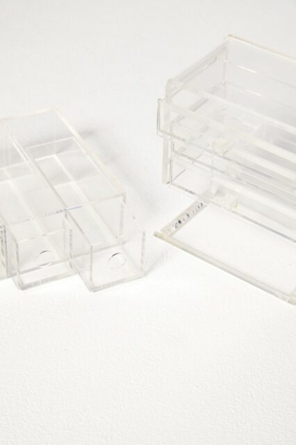 Alternate view 1 of Clarissa Lucite Jewelry Case Pair