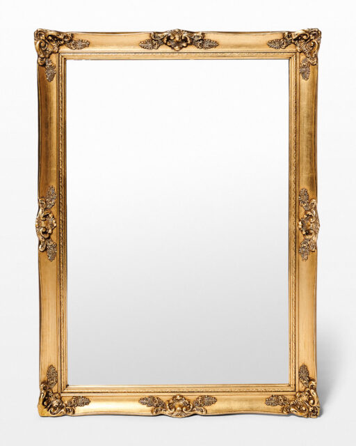 "Front view of Rubin 29"" x 41"" Mirror"