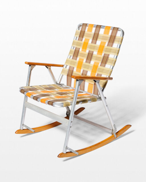 Front view of Coda Folding Rocking Chair