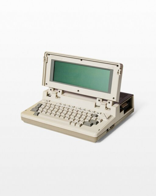 Front view of Bondwell Model 2 Portable Computer