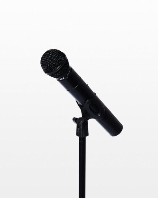 Front view of Taylor Wireless Microphone with Stand