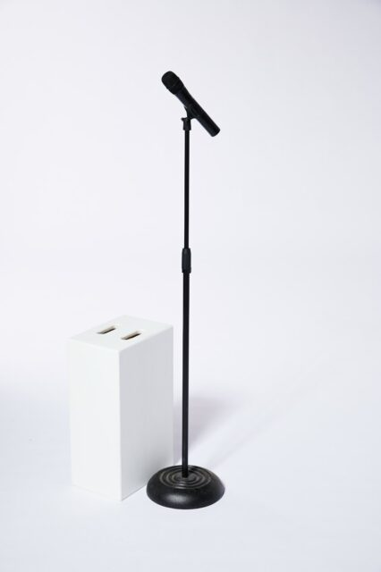 Alternate view 2 of Earl Wireless Microphone with Stand