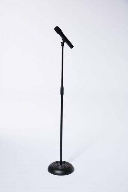 Alternate view 1 of Earl Wireless Microphone with Stand