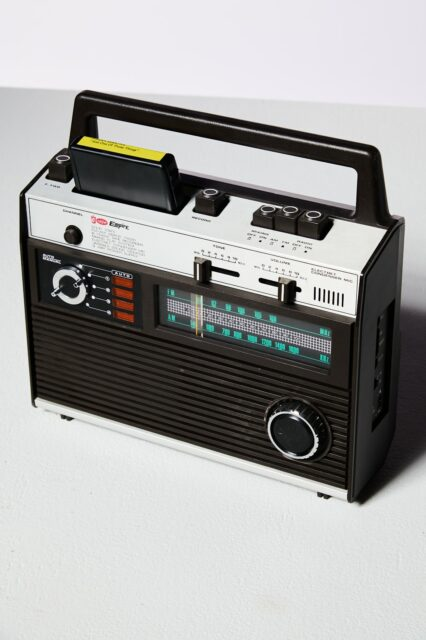 Alternate view 2 of Empire 8-Track Player and Radio