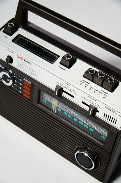 Alternate view 1 of Empire 8-Track Player and Radio