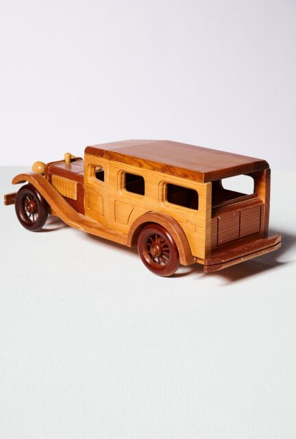 Alternate view 3 of Highway Antique Wooden Car