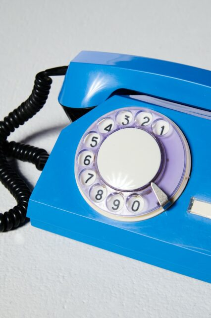 Alternate view 1 of Breeze Blue Rotary Phone