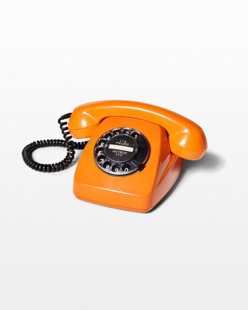 Front view of Flora Rotary Phone