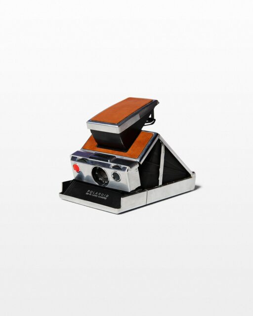 Front view of Polaroid SX-70 Land Camera