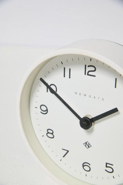 Alternate view 3 of Jorna White Mantle Clock
