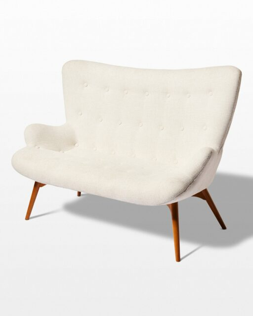 Front view of Theory Loveseat