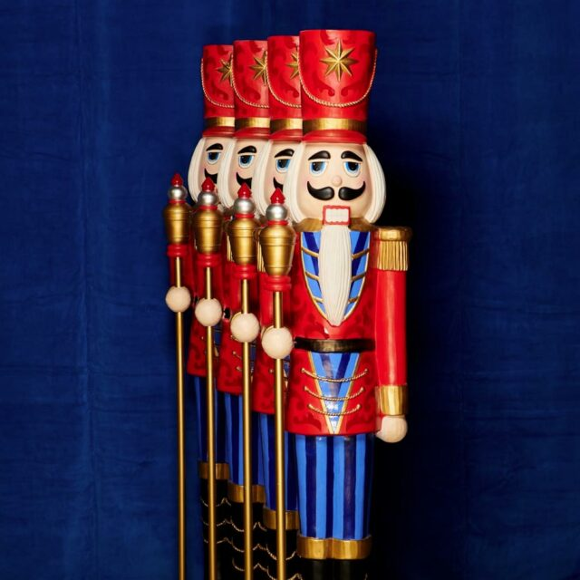 Lifesize Nutcracker Toy Soldier for Holiday