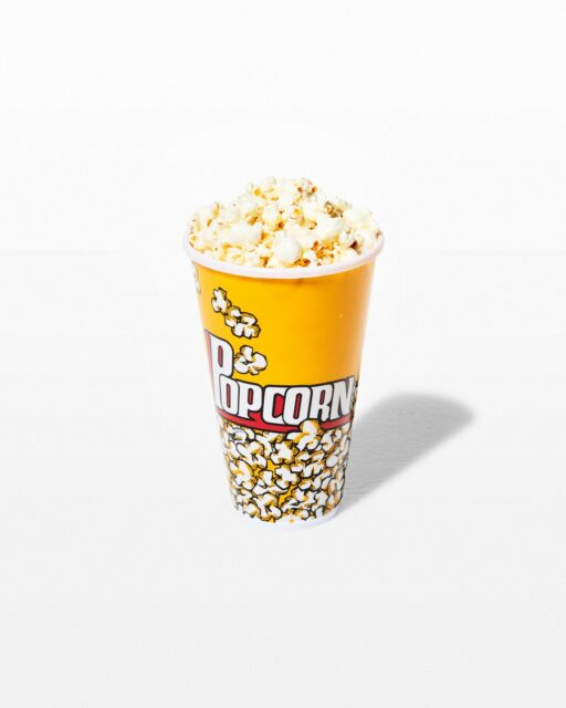 Front view of Beverly Faux Popcorn in Bucket