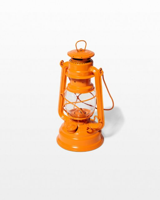 Front view of Emmett Orange Lantern