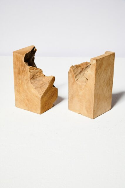 Alternate view 3 of Mastiff Live Edge Bookends
