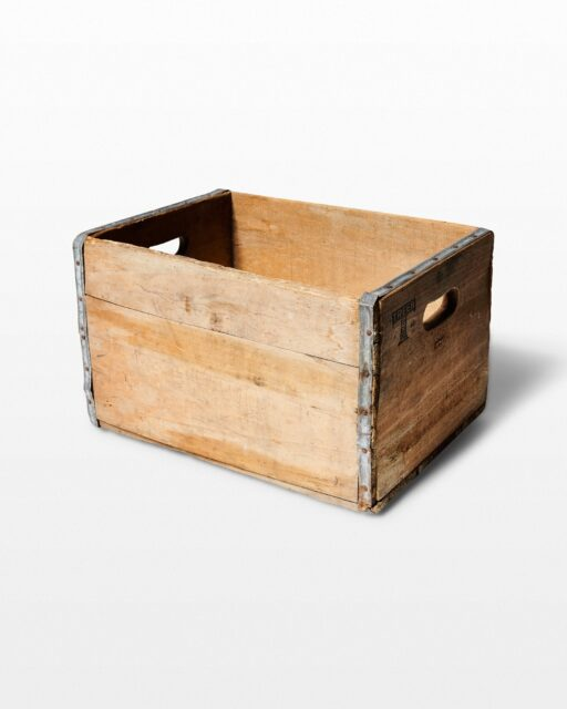 Front view of Antioch Crate