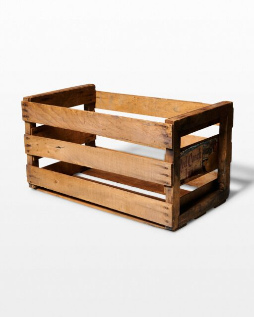 Front view of Colony Crate
