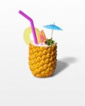 Front view thumbnail of Faux Pineapple Rum Punch