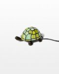 Front view thumbnail of Stained Glass Turtle Accent Lamp