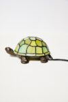 Alternate view thumbnail 2 of Stained Glass Turtle Accent Lamp